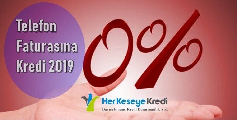 faturaya kredi 2019