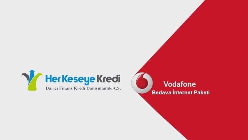 Vodafon Bedava İnternet Paketleri