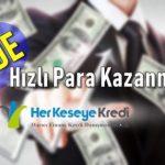 evde hızlı para kazanmak